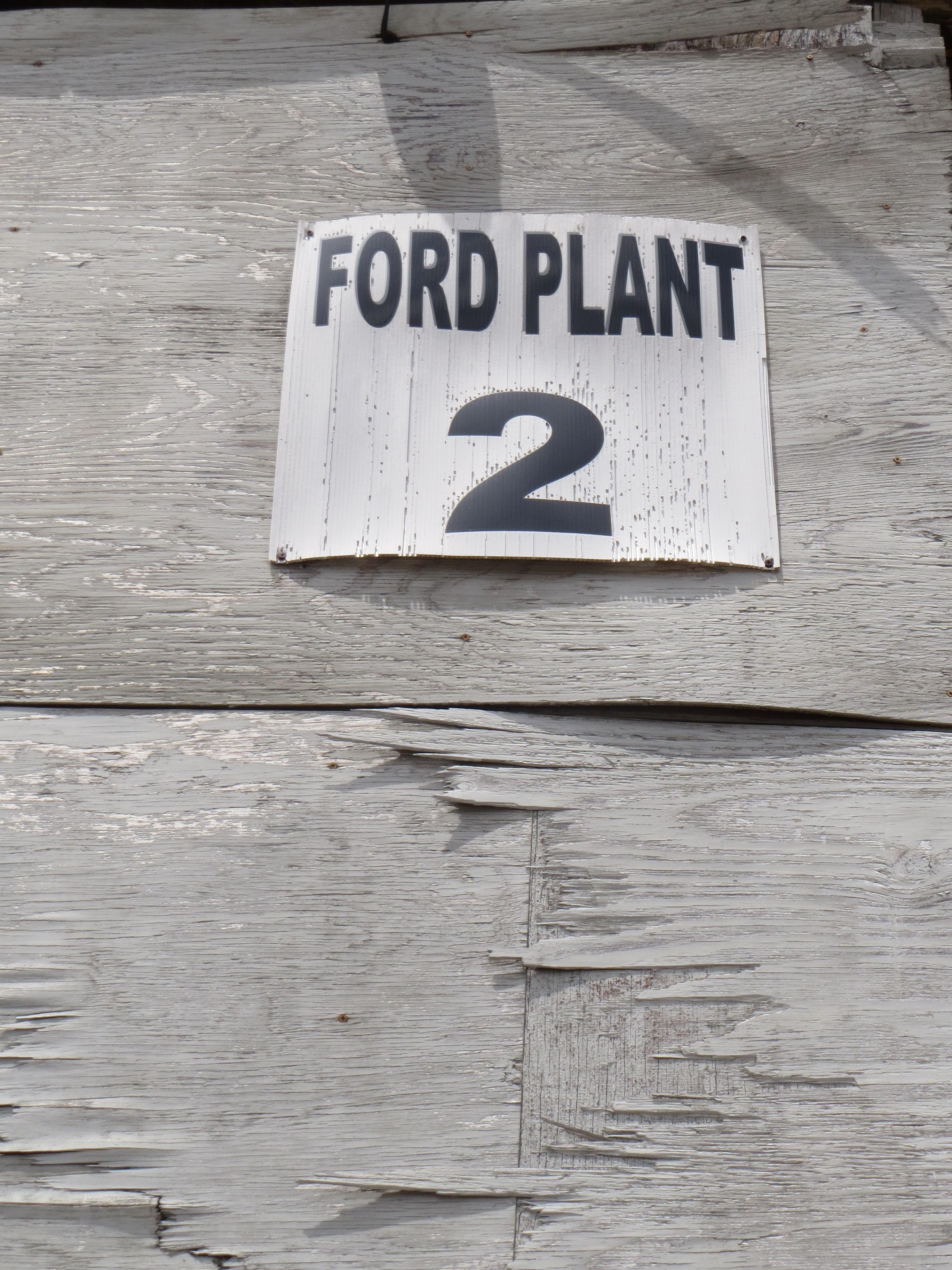 Fairfield Ford Motor Company Assembly Plant Jaxpsychogeo