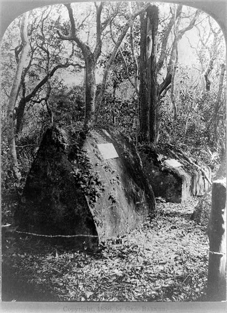 Fort George Island Crypts